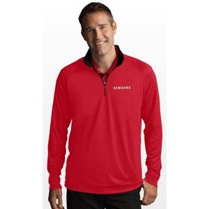 Greg Norman Play Dry® 1/4 Zip Performance Mock Sweater